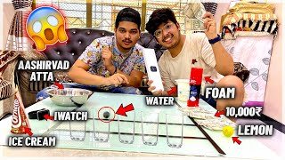 Making Home Made Game At Our House - Apple Watch , 10000₹ , Lemon - Ball in The Glass - TSG Vlogs