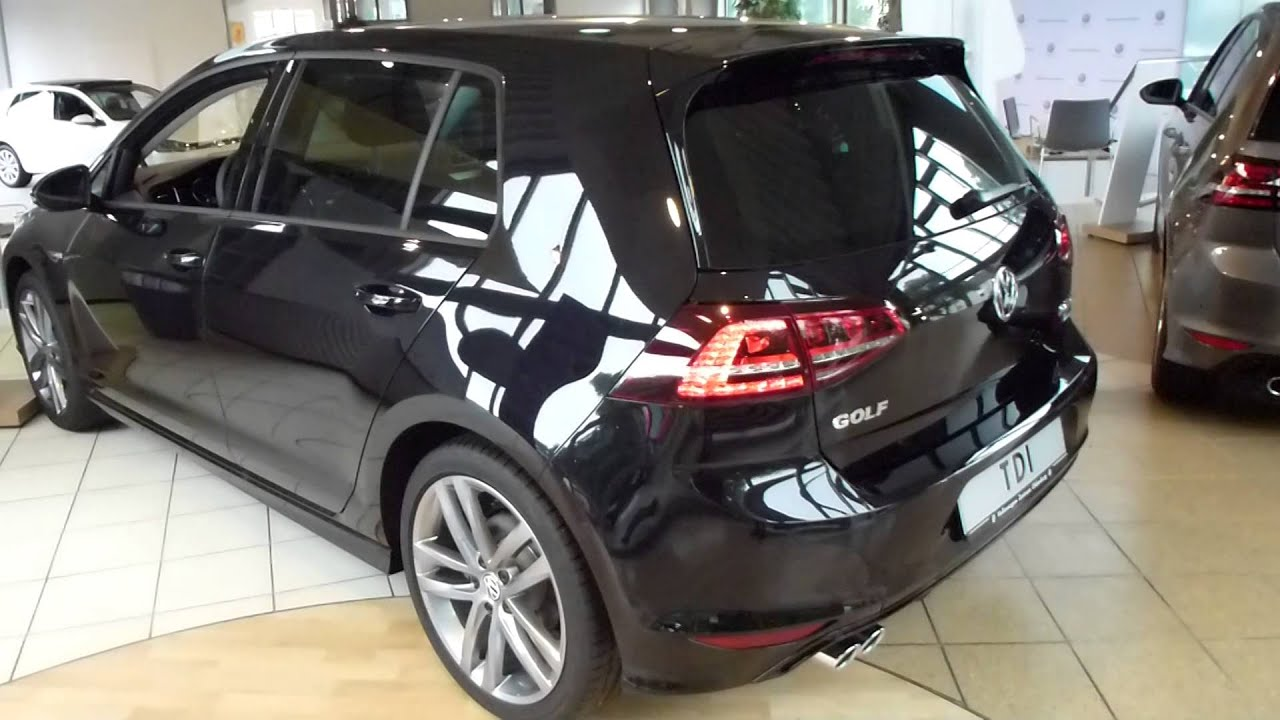 2015 vw golf 2 0 tdi 39 39 r line 39 39 exterior interior see also playlist youtube. Black Bedroom Furniture Sets. Home Design Ideas
