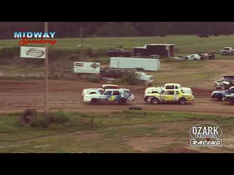 MIDWAY SPEEDWAY - PURE STOCK - HEAT RACE - 8-2-19