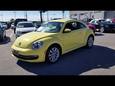 Preowned 2014 VW Beetle TDI (Turbo Diesel)