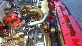 supercharged turbocharged 427 fox mustang