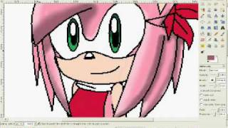 *~ Another coloring video!!??? 8D -The Awesome Amy Rose- ~*