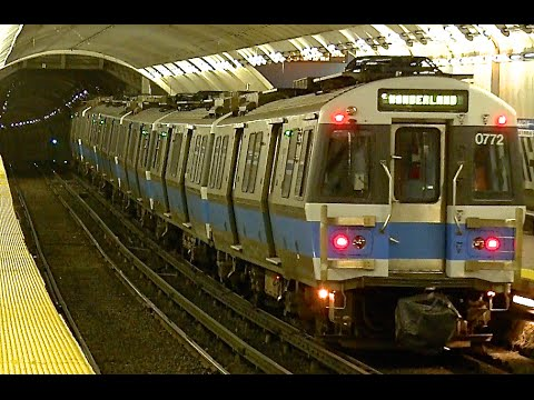 "Boston MBTA Subway - ""The T"""