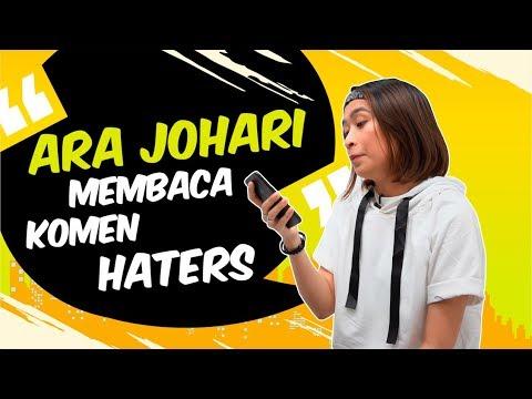 Ara Johari Membaca Komen Haters