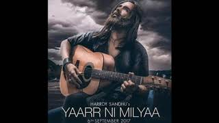 Yaarr ni milyaa (instrumental cover)-by harrdy sandhu