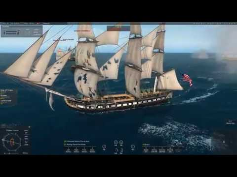 Naval Action screening for Puerto Plata port battle in Old Ironsides!!! (3/11/2017)
