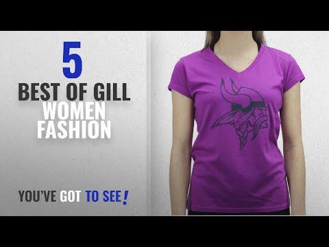 Gill Women Fashion [2018 Best Sellers]: Alyssa Milano Women's Minnesota Vikings Football Club Purple