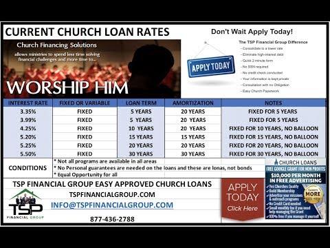 2018 Florida Top Church Lender   Low Rate Church Loans   Small Church Loans   Florida