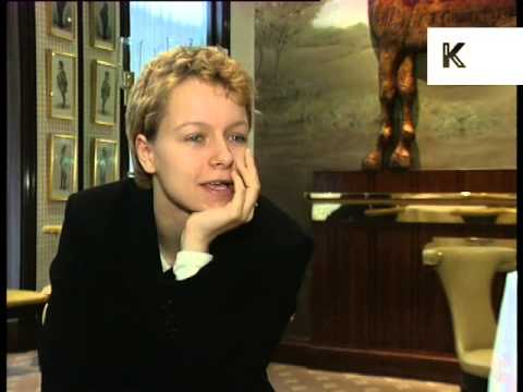 1997 Interview Samantha Morton on Playing Jane Eyre, Archive Footage