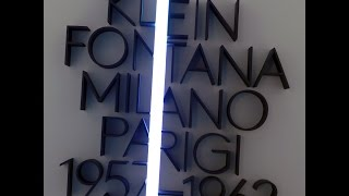 WALKING TOUR [2014.12] Klein Fontana Exhibition at the Museo del Novecento