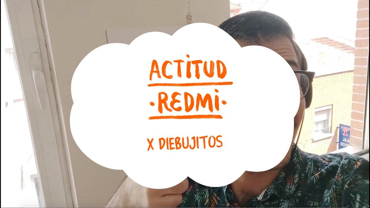 #ActitudRedmi | diebujitos comparte su fondo de pantalla exclusivo de la #SerieRedmiNote9