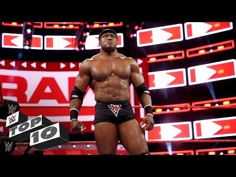 Bobby Lashley's dominant moments: WWE Top 10, April 14, 2018 thumbnail