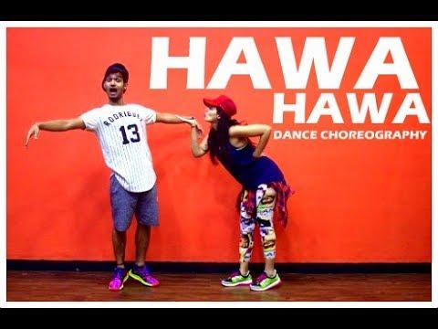 Hawa Hawa dance choreography  | Mubarakan | Vicky and Aakanksha