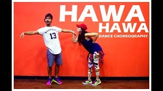 Hawa Hawa dance choreography  | Mubarakan | Vicky and Aakanksha