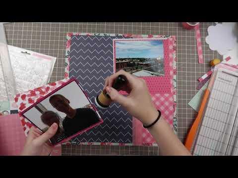 Book Hunt - 12x12 Multi-Photo Layout Process Video // Falling Back To Basics Series