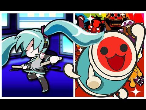 HATSUNE MiKU / Perfect COMBO / Taiko Drum Master WiiU :3