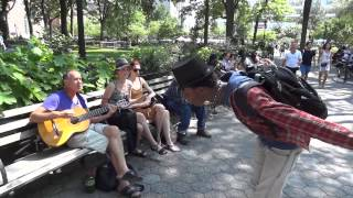 In July of 215 I visited NYC with my guitar and strolled through Un...