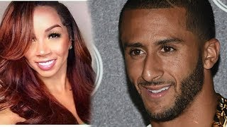 Colin Kaepernick  gets EXPOSED by a ......... thotie thirsty boxx...