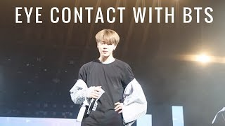 BTS EYE CONTACT COMPILATION?? | the wings tour in newark