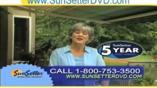 Montana Sun Setter Awning Reviews - Fabric Deck Shade- Video