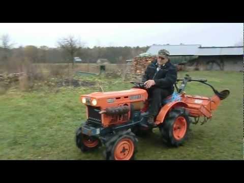 Traktorek Kubota B6001 TEST po szczęśliwym  zakupie. www.akant-ogrody.pl
