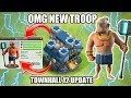 OMG 😱 NEW TOWNHALL 12 TROOP UPDATE 2018 (concept) Clash of Clans