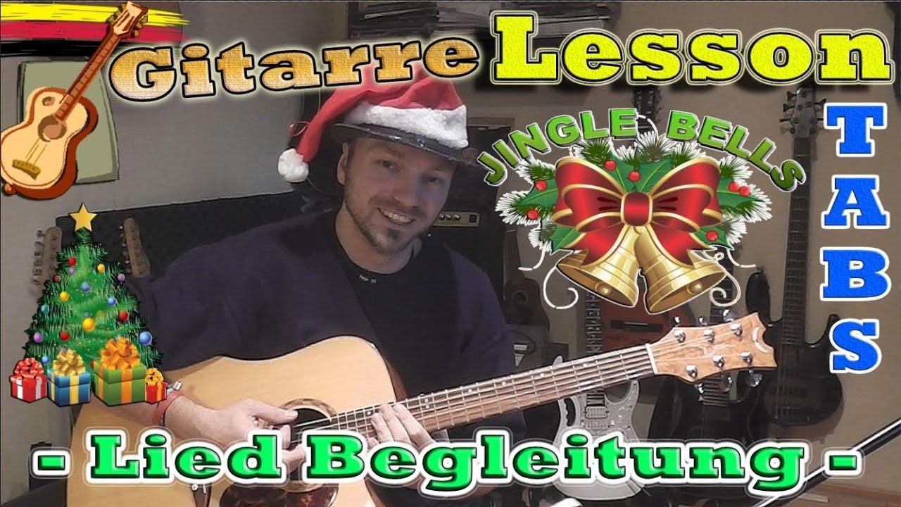 ☆JINGLE BELLS Liedbegleitung Weihnachtslied TABS CHORDS Akustik ...