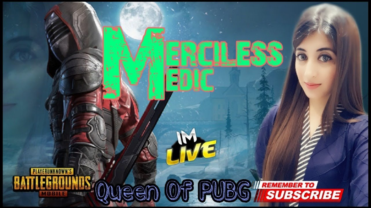 PUBG MOBILE LIVE// MERCILESS MEDIC // INSTAGRAM