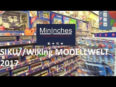 Siku//wiking modellwelt Siku Museum 2017/2018