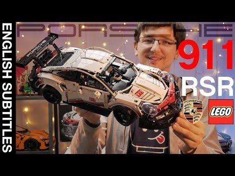 NEW REVIEW! ОБЗОР НОВИНКИ! Porsche 911 RSR - 42096  LEGO Technic.