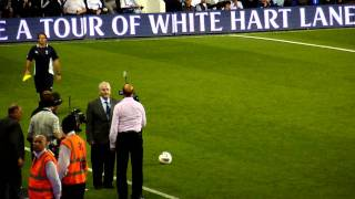 Spurs V Hearts (Dave Mackay at half time - 37 seconds in)