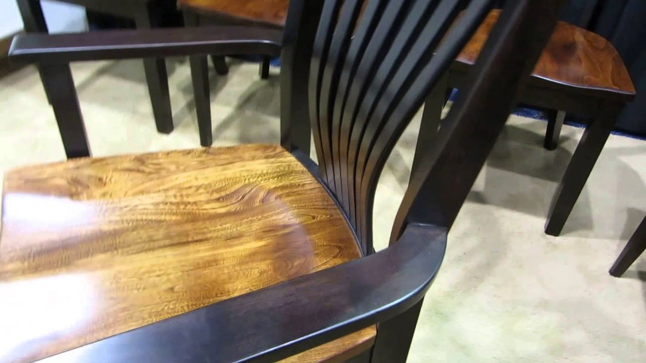 Amish Christy Fanback Dining Chair ID