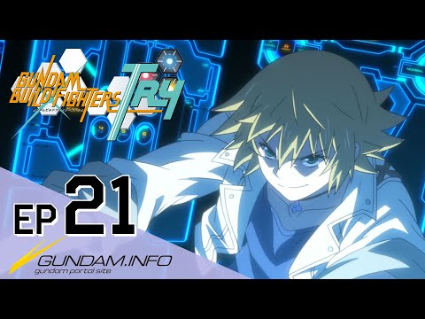 GUNDAM BUILD FIGHTERS TRY-Episode 21: Blue Wings  (ENG sub)