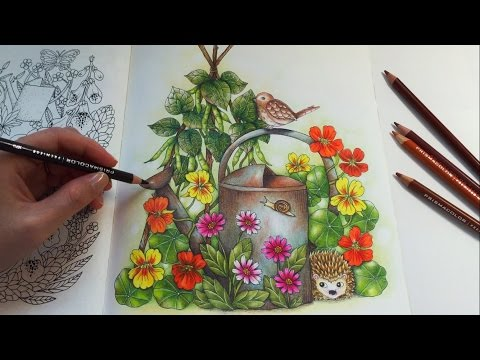 Farm Friends | BLOMSTERMANDALA Coloring Book | Prismacolor Premier Colored Pencils Coloring