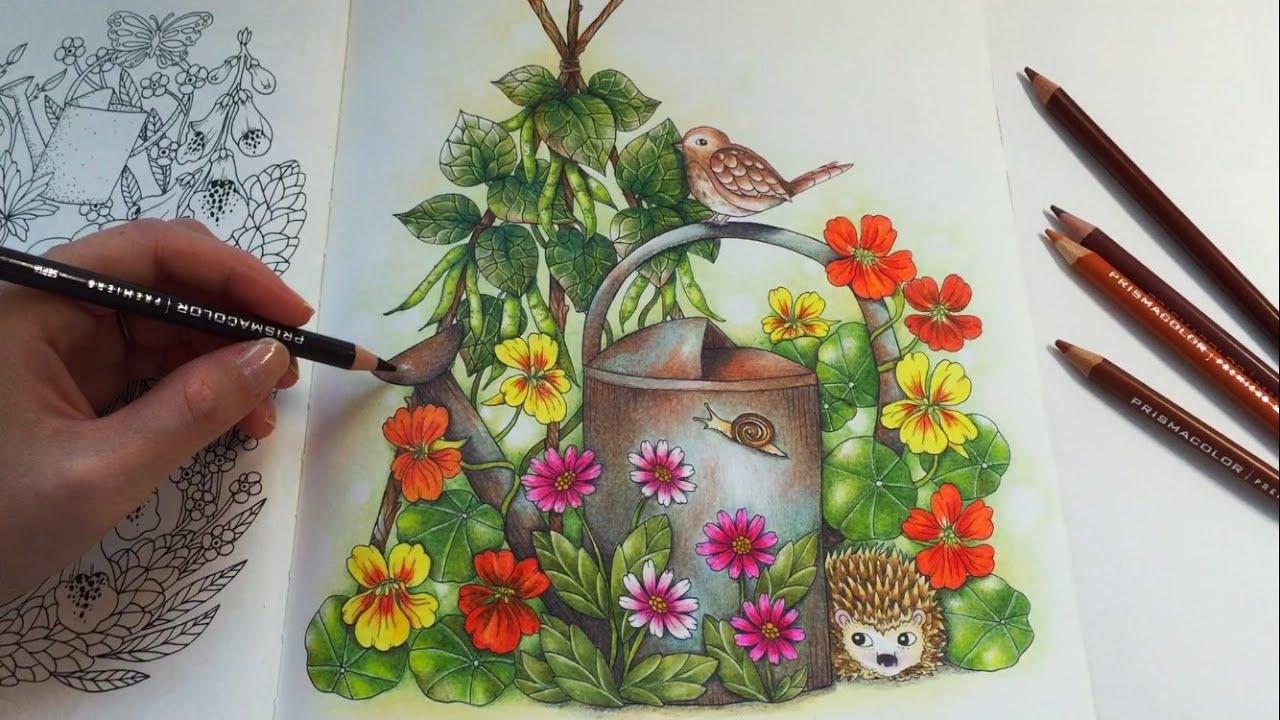 Farm Friends BLOMSTERMANDALA Coloring Book Prismacolor