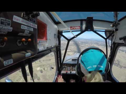 Bellanca Scout Flight Landing
