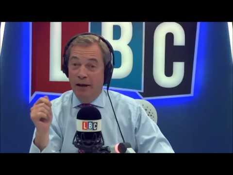 Nigel Farage Discusses Juncker's Childish Behaviour