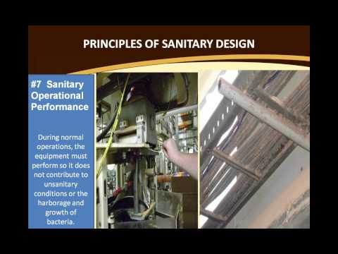 ASB Webinar - Sanitary Design of Food Processing Equipment