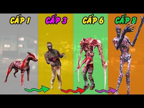 GTA 5 - Tôi tiến hóa nhưng nay từ 1 con chó Zombie đầy ghẻ trở thành Chúa Zombie siêu to nghìn mắt