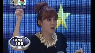 New Famili 100 - Ep401 - Final Special HUT INDOSIAR (D Host vs. Cherrybelle)