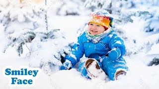 Babies Playing in the Snow First Time - Funny Baby Fails I