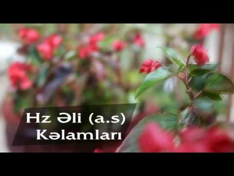 Həzrəti əli əleyhissalamin Kəlamlari Youtube