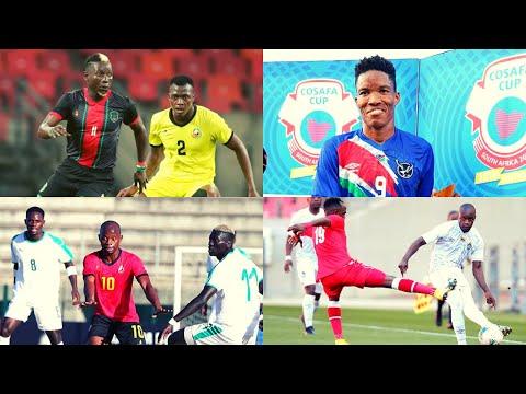 Malawi vs Namibia | Senegal vs Zimbabwe | Cosafa Cup 2021