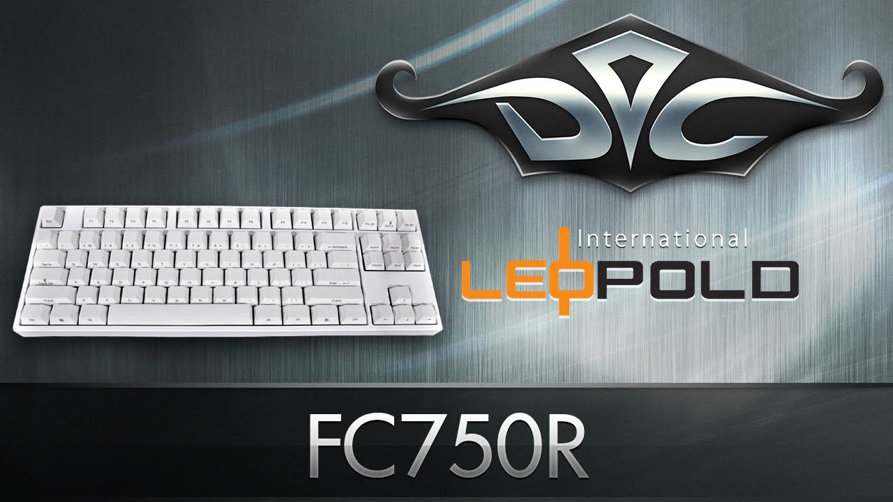 Leopold FC750R White by GeekBoards.ru