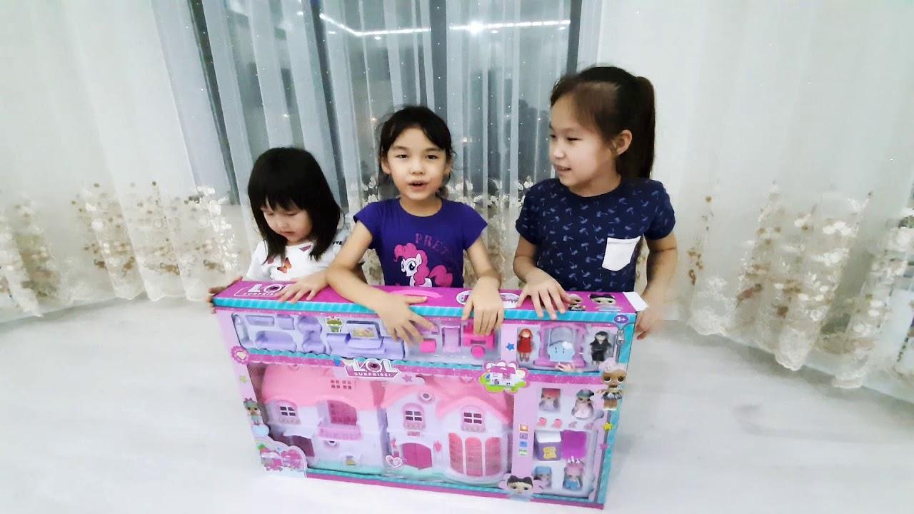 Распаковка,Дом куклы Лол - YouTube