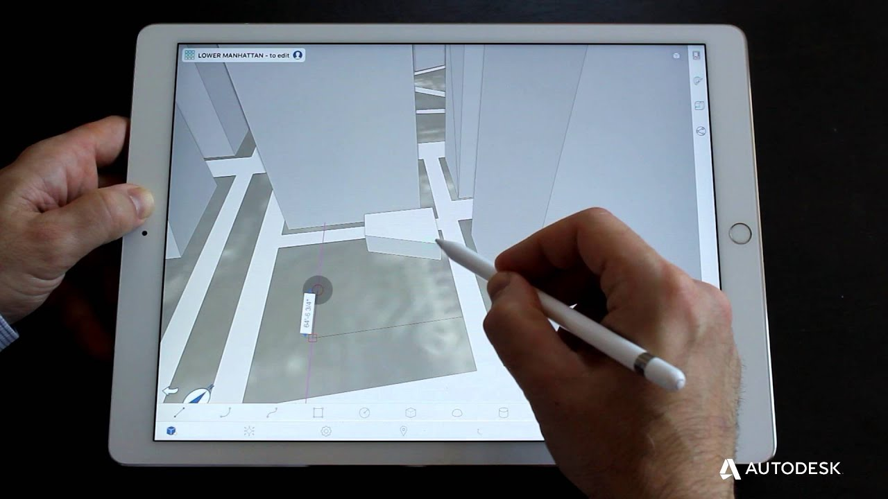 Architecture Drawing Ipad formit 360 for ipad pro and apple pencil - youtube