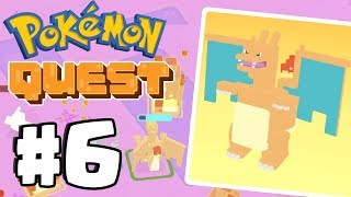 CHARIZARD EVOLUTION *SUPER RARE* - Pokemon Quest Gameplay  Part 6 (Switch, IOS, Android)