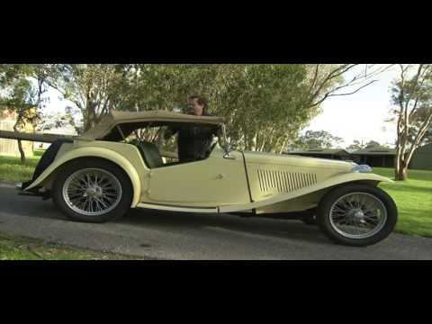 The MG T series Convertible Sports Car | Classic Cars HD