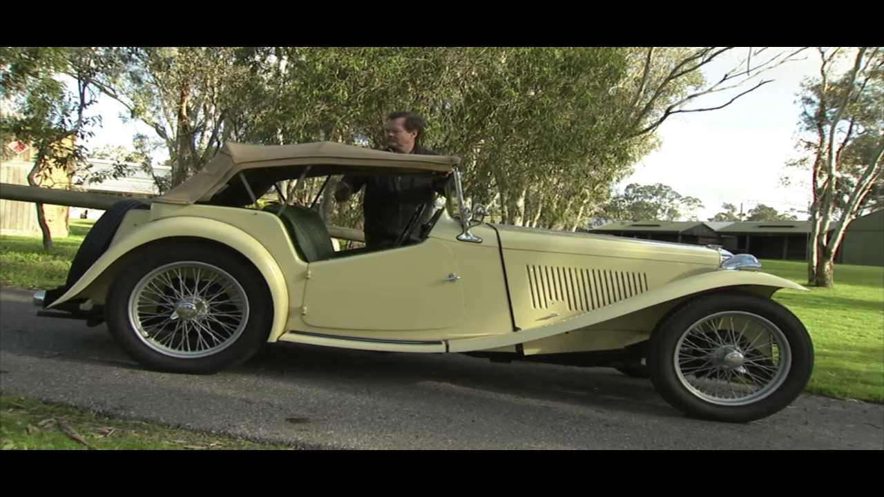 The MG T Series Convertible Sports Car