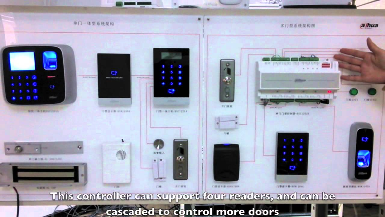 Dahua Techcology Access Control system Introduction  YouTube
